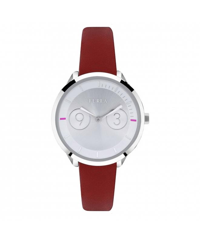 Orologio Furla Metropolis donna pelle rossa R4251102507 - galleria 1