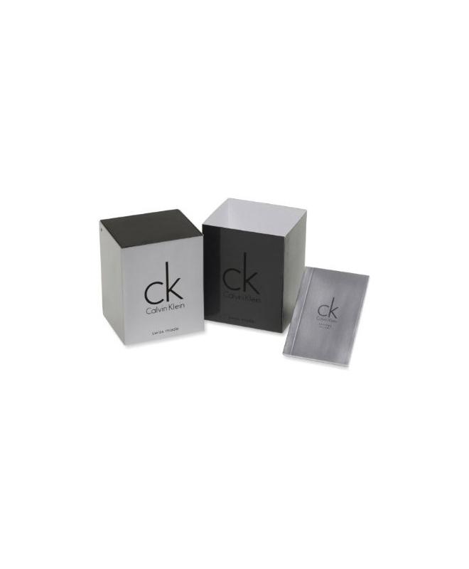 Orologio Calvin Klein Dart uomo gomma / bianco uomo K2S371D6 - galleria 2