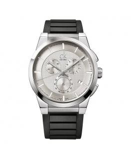 Orologio Calvin Klein Dart uomo gomma / bianco