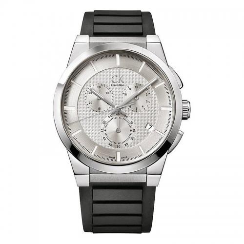 Orologio Calvin Klein Dart uomo gomma / bianco uomo K2S371D6