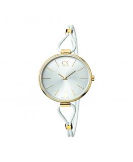 Orologio Calvin Klein Selection donna bianco / oro