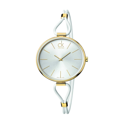 f8d6c10a83a350 orologio calvin klein Selection oro bianco
