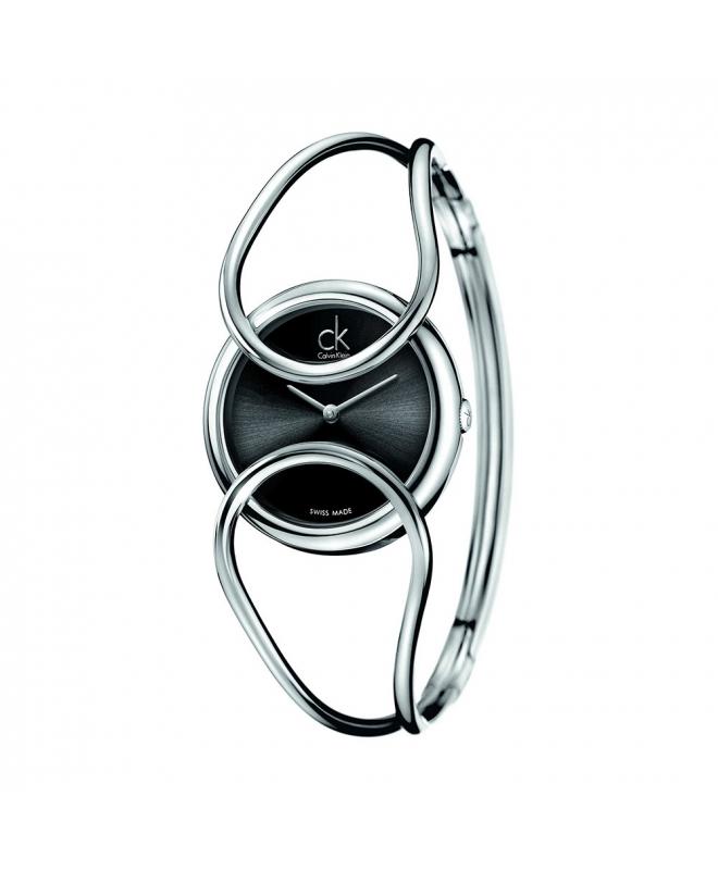 Orologio Calvin Klein Inclined donna nero - galleria 1
