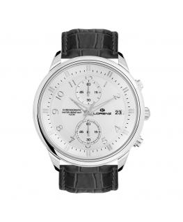 Orologio Lorenz Classic uomo cronografo pelle