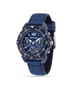 Orologio Sector Expander 90 cronografo blu