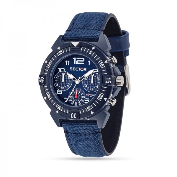 Orologio Sector Expander 90 cronografo blu uomo R3251197133 - galleria 1