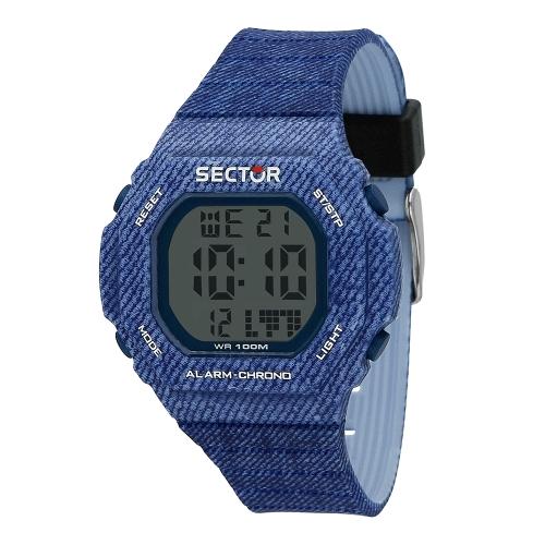 Orologio Sector Ex-12 digitale blu uomo R3251599003