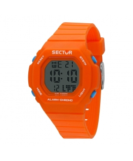 Orologio Sector Ex-12 digitale arancione