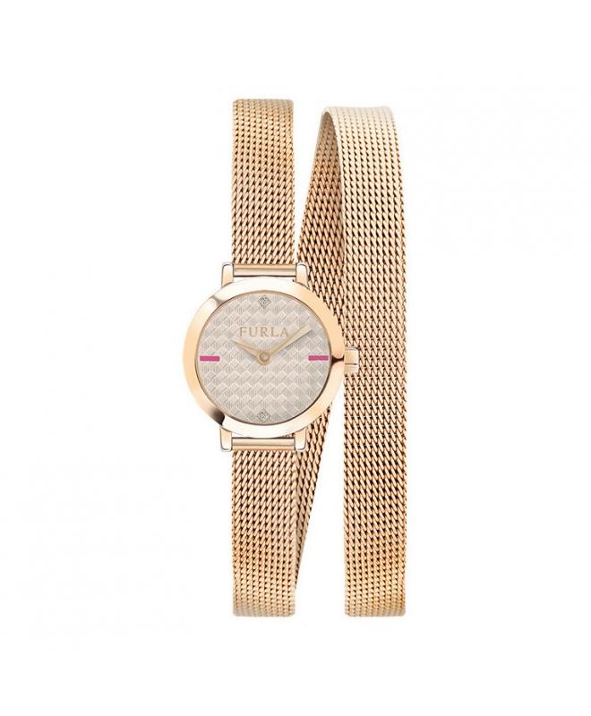 Orologio Furla Vittoria donna acciaio / oro rosa - galleria 1