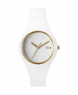 Orologio Ice-watch Ice-Glam donna bianco / oro