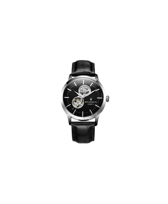 Orologio Maserati Tradizione uomo automatico nero - galleria 1