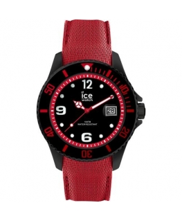 Ice-watch Ice steel - black red - large - 3h