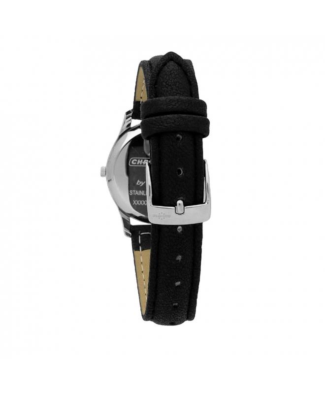 Orologio Chronostar Charles donna pelle nero - galleria 2