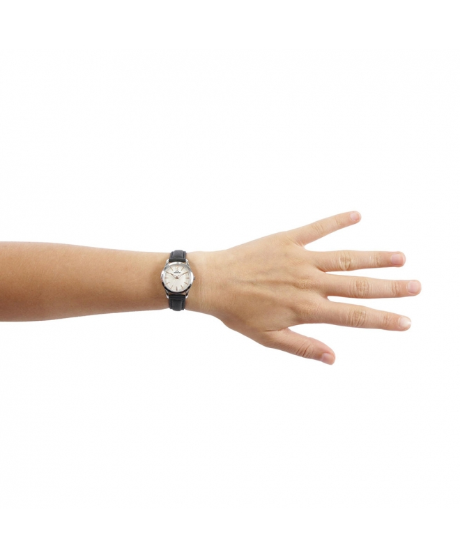 Orologio Chronostar Charles donna pelle nero - galleria 3
