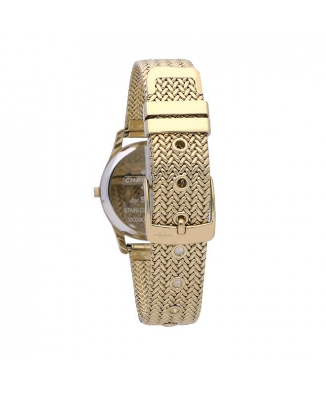 Orologio Chronostar Charles donna acciaio dorato - galleria 2