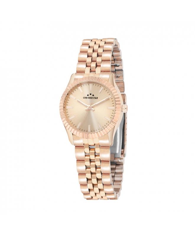 Orologio Chronostar Luxury donna acciaio oro rosa - galleria 1