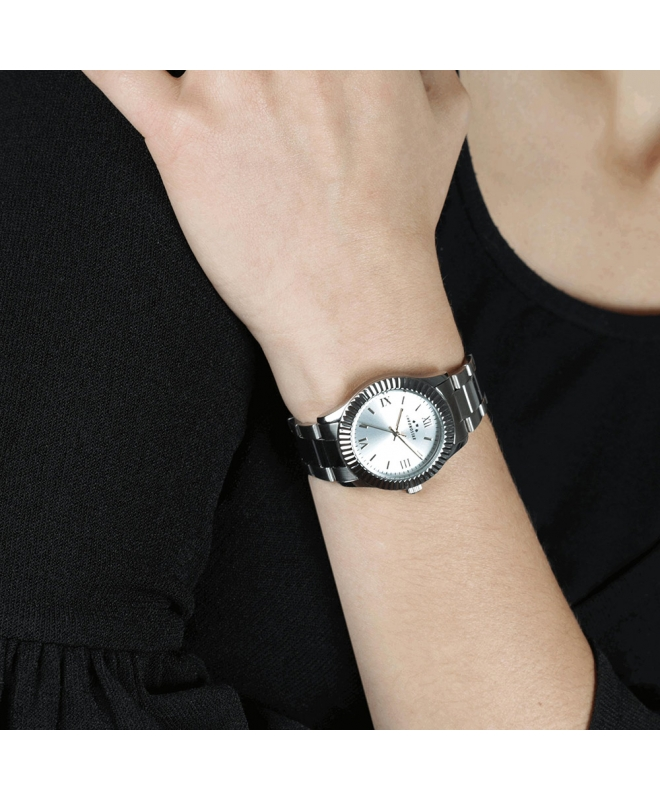 Orologio Chronostar Luxury donna acciaio / bianco - galleria 3