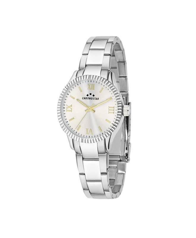 Orologio Chronostar Luxury donna acciaio / bianco - galleria 1