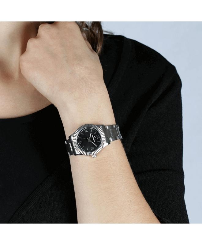 Orologio Chronostar Luxury donna acciaio / nero - galleria 3