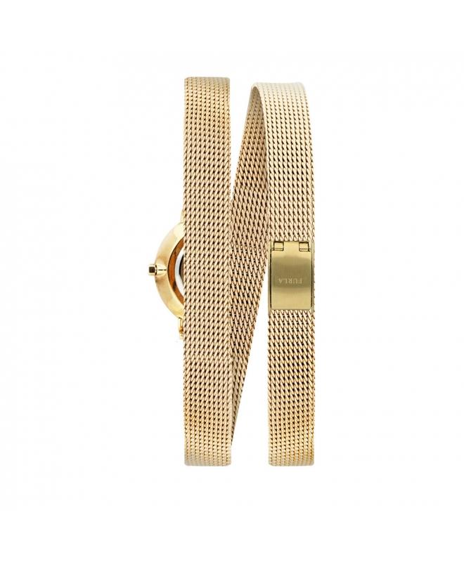 Orologio Furla Vittoria donna dorato 21mm R4253107501 - galleria 2