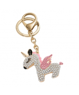 Morellato Keyholder magic unicorn w/pink enamel