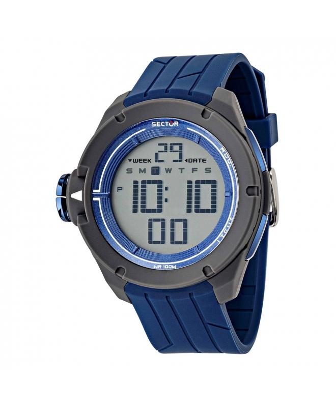 Orologio Sector Ex-03 47mm digital blue uomo R3251589001 - galleria 1