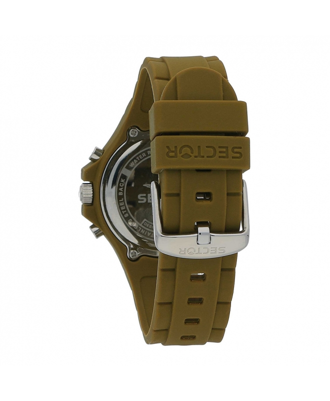 Orologio Sector Steeltouch 41mm verde - galleria 2
