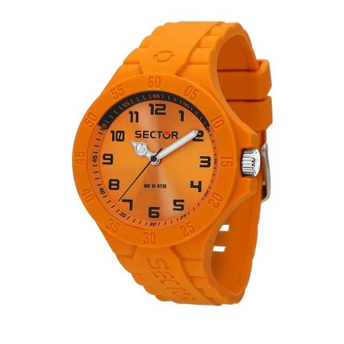 Orologio Sector Steeltouch 41mm orange data uomo R3251576016