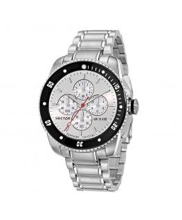 Orologio Sector 350 45mm chrono bianco