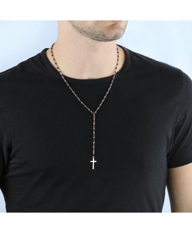 Collana Morellato Ematite rosario - galleria 2