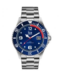 Ice-watch Ice steel - blue silver - medium - 3h