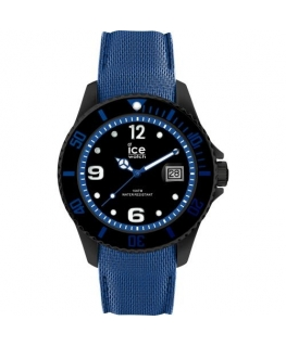 Ice-watch Ice steel - black blue - large - 3h