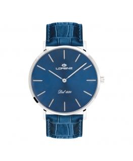 Orologio Lorenz uomo Classic slim uomo blu