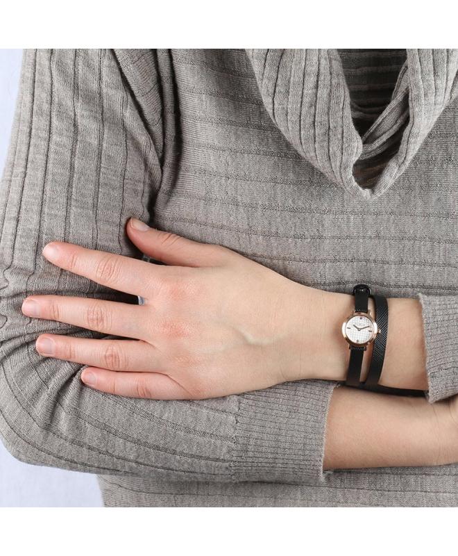 Orologio Furla Vittoria donna pelle nero 21mm R4251107501 - galleria 3