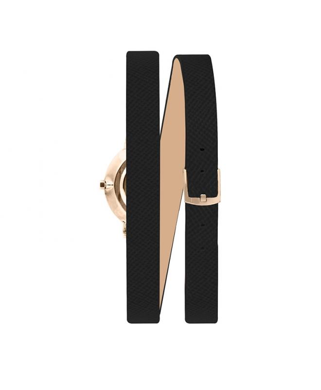 Orologio Furla Vittoria donna pelle nero 21mm - galleria 2