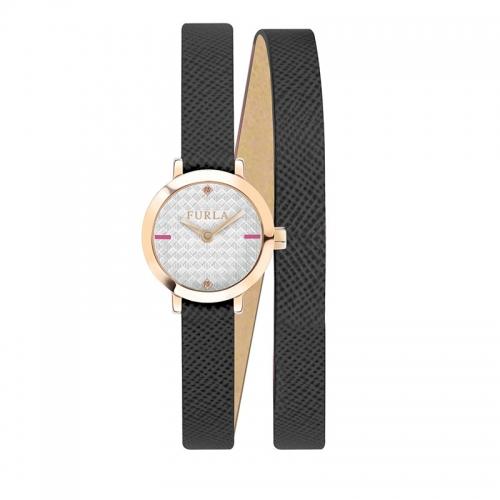 Orologio Furla Vittoria donna pelle nero 21mm R4251107501