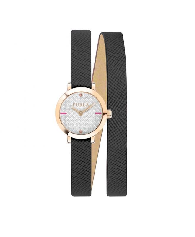 Orologio Furla Vittoria donna pelle nero 21mm R4251107501 - galleria 1