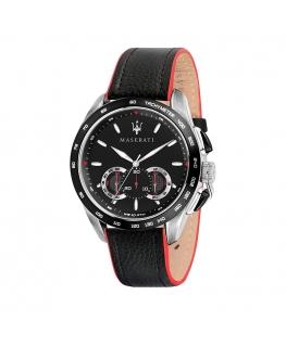 Maserati Traguardo 45mm chr black dial black str