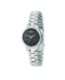 Chronostar Shimmer 32mm 3h black dial br ss
