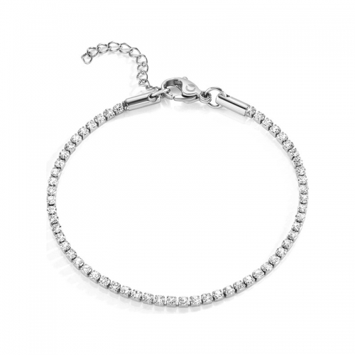 Bracciale Sector Love and love crystal 170+30mm donna SAFS06