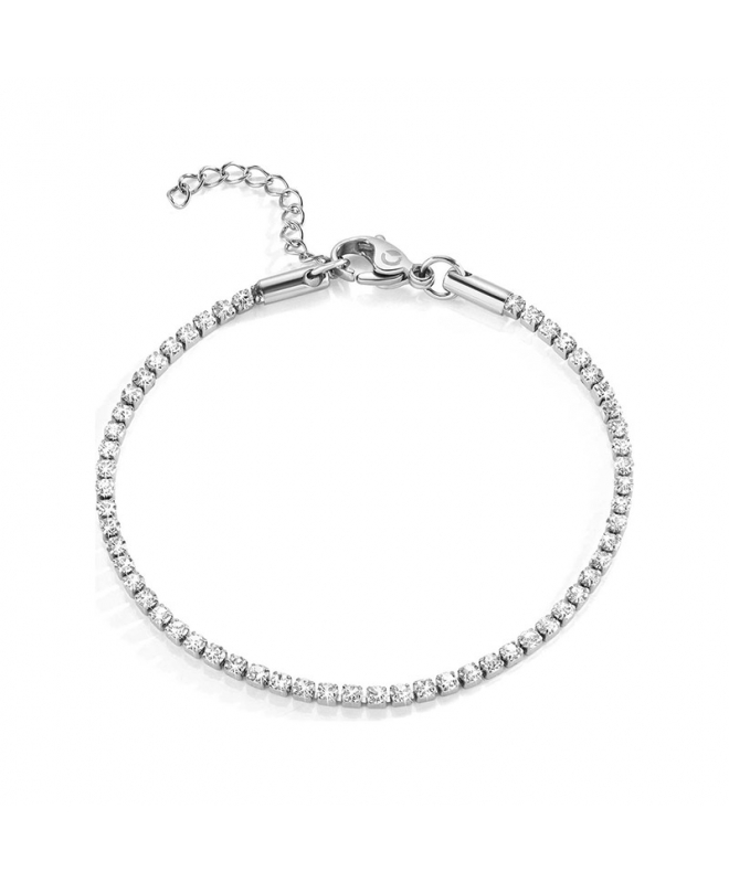 Bracciale Sector Love and love crystal 170+30mm donna SAFS06 - galleria 1
