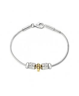 Bracciale Morellato Solomia donna argento 3 beads