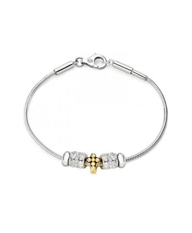 Bracciale Morellato Solomia donna argento 3 beads donna SAFZ74 - galleria 1