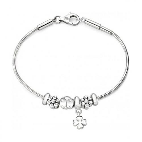 Bracciale Morellato Solomia donna argento 925 4 beads donna