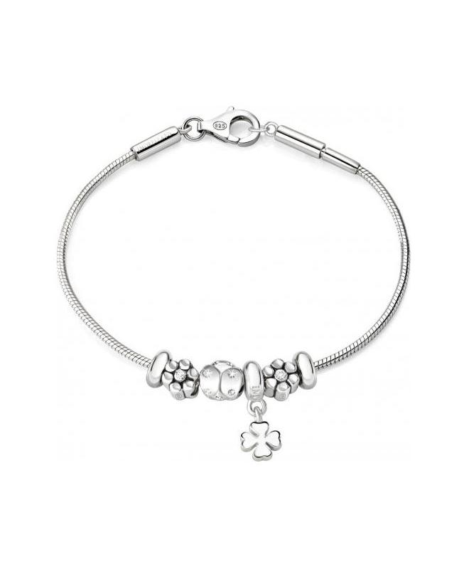 Bracciale Morellato Solomia donna argento 925 4 beads donna - galleria 1