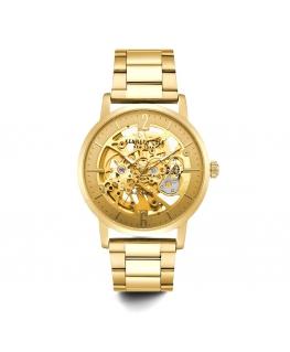Orologio Kenneth Cole Skeleton automatico dorato