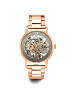 Orologio Kenneth Cole Skeleton automatico oro rosa