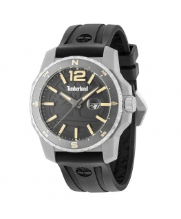 Orologio Timberland Westmore 3h gun dial black silicon
