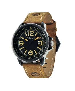 Orologio Timberland Caswell pelle beige