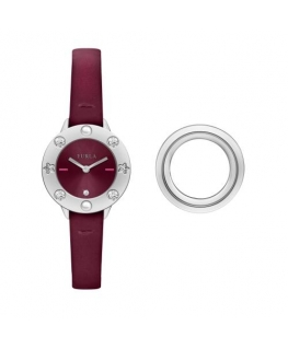 Furla Club 26mm 2h dark red dial d.red str